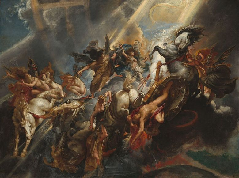 peter paul rubens fall of phaeton
