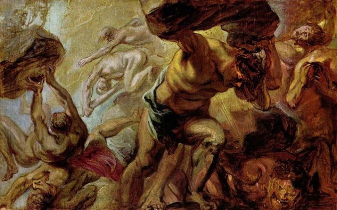 Rubens Fall of the Titans
