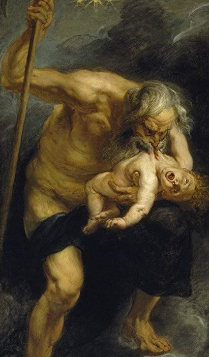 Saturn Devouring His Son, Rubens, 1636