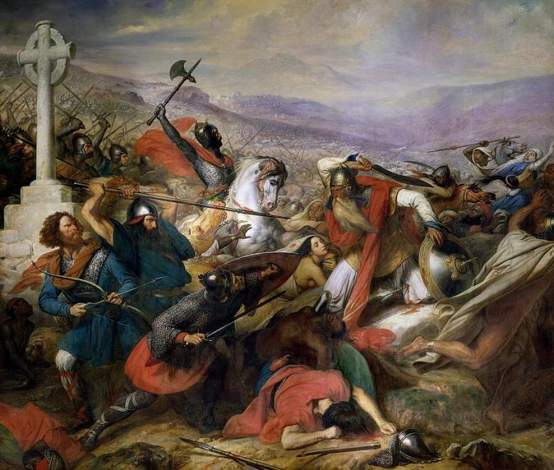 the-battle-of-poitiers-charles-auguste-steuben